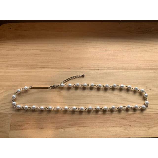 KAPITAL(キャピタル)のパールネックレス pearl necklace 8mm メンズのアクセサリー(ネックレス)の商品写真