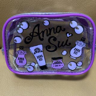 ANNA SUI - レア✨ANNA SUI✨透明ポーチ✨ANNA SUI柄✨