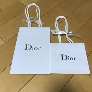 ディオール(Dior)のディオール 紙袋2枚セット(ショップ袋)
