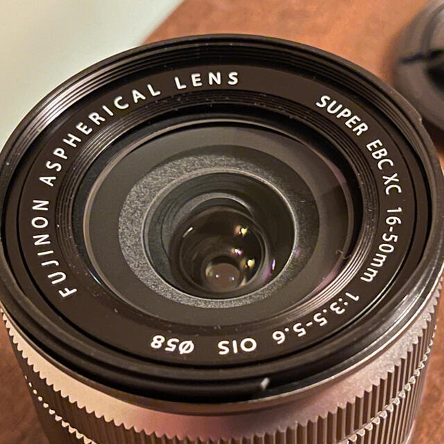 富士フイルム(フジフイルム)のFUJIFILM XC 16-50mm f3.5-5.6 OIS  スマホ/家電/カメラのカメラ(レンズ(ズーム))の商品写真