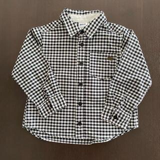 ブリーズ(BREEZE)の【BREEZE】ブロックチェック長袖シャツ110サイズ(ブラウス)