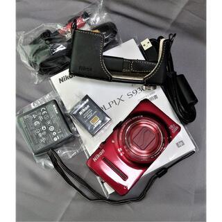 Nikon - 美品ニコン18倍ズームコンデジ GPS搭載・純正ハーフケース付