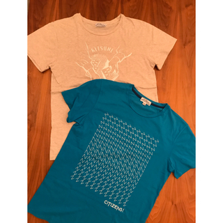 MAISON KITSUNE' - メゾンキツネ Maison Kitsune  Tシャツ S  セット