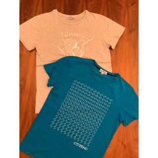 メゾンキツネ(MAISON KITSUNE')のメゾンキツネ Maison Kitsune  Tシャツ S  セット(Tシャツ/カットソー(半袖/袖なし))
