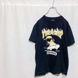 スラッシャー(THRASHER)のTHRASHER PEANUTS スラッシャー ピーナッツ コラボ 半袖Tシャツ(Tシャツ/カットソー(半袖/袖なし))