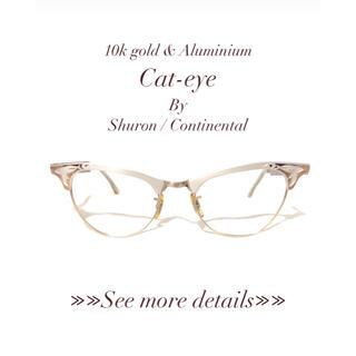 "Shuron/Continental Optical ""Cat eye"""