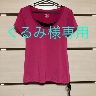PUMA - PUMA スポーツウェア レディース Tシャツ