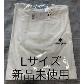 スノーピーク(Snow Peak)のスノーピーク 刺繍ロゴ Tシャツ 新品未使用 Lサイズ 限定(Tシャツ/カットソー(半袖/袖なし))
