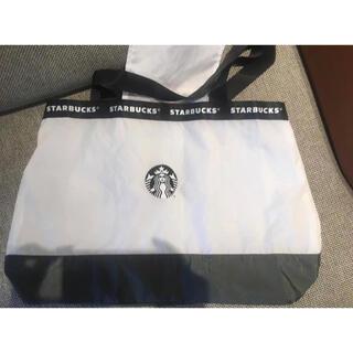 Starbucks Coffee - 訳あり!台湾 スターバックス エコバッグ 大判 大容量