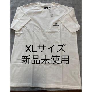スノーピーク(Snow Peak)のスノーピーク 刺繍ロゴ 新品未使用 XL(Tシャツ/カットソー(半袖/袖なし))