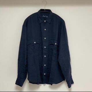 PORTER - PORTER CLASSIC リネンロールアップシャツ