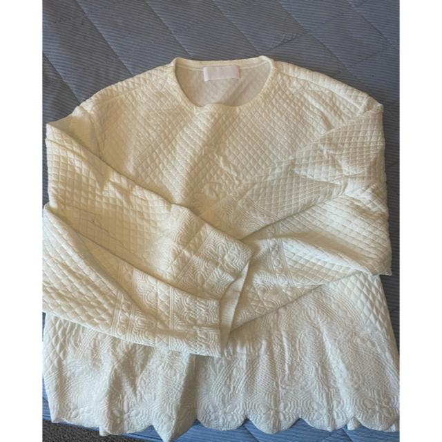 mame(マメ)のmame ニット プルオーバー 21ss レディースのトップス(ニット/セーター)の商品写真