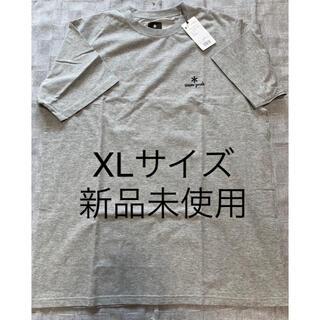 スノーピーク(Snow Peak)のスノーピーク 刺繍ロゴス Tシャツ XLサイズ 新品未使用(Tシャツ/カットソー(半袖/袖なし))