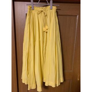 ガリャルダガランテ(GALLARDA GALANTE)のガリャルダガランテ フレアスカートイエロー 黄色 (ロングスカート)