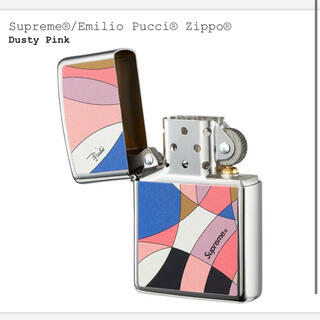 Supreme - Supreme Emilio Pucci Zippo dusty pink