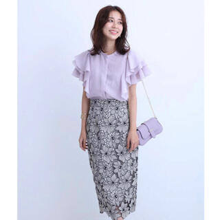 JUSGLITTY - 【最終お値下げ】ジャスグリッティー配色スカート
