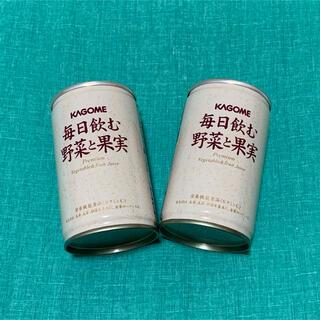 カゴメ(KAGOME)のカゴメ 毎日飲む野菜と果実 2本(その他)
