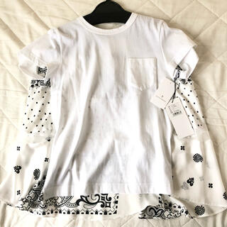 サカイ(sacai)のSacai Archive Print Mix T-Shirt 白 2 Tシャツ(Tシャツ(半袖/袖なし))