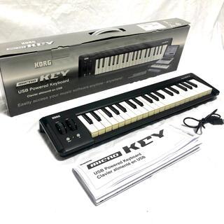 コルグ(KORG)の【専用】KORG コルグ USB MIDI キーボード microKEY(MIDIコントローラー)