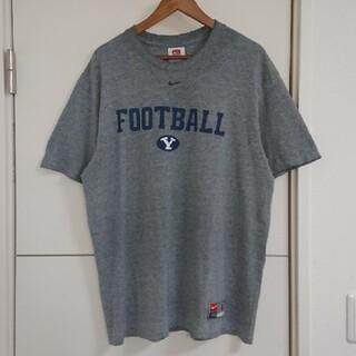 NIKE - NIKE ナイキ Tシャツ 90s カレッジ古着 両面プリント ビッグシルエット