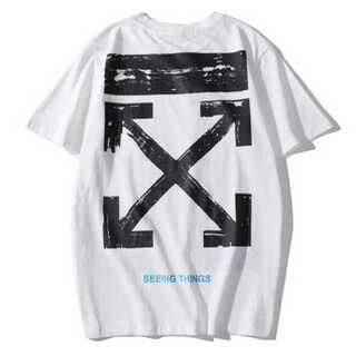 シンプル メンズ Tシャツ 白 ホワイト オフホワイト レディース ペアルック(Tシャツ/カットソー(半袖/袖なし))