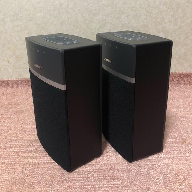 BOSE(ボーズ)のBOSE SOUNDTOUCH 10 2個セット スマホ/家電/カメラのオーディオ機器(スピーカー)の商品写真