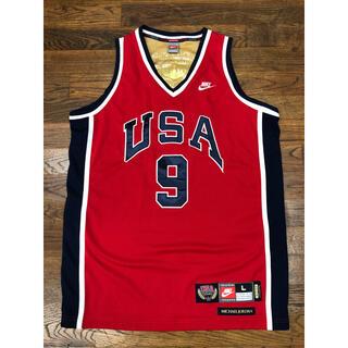 NIKE - Michael jordan  マイケルジョーダン ユニフォーム USA NBA