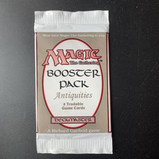 マジックザギャザリング(マジック:ザ・ギャザリング)のMTG antiquities 未開封パック(Box/デッキ/パック)