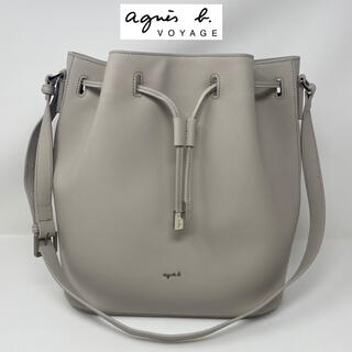 agnes b. - 未使用☺︎agnes b.  voyage アニエスベー 巾着 バッグ グレー