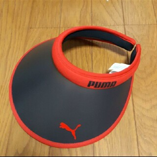 プーマ(PUMA)のPUMA プーマサンバイザー 帽子 メンズ レディース UV対策(ハット)