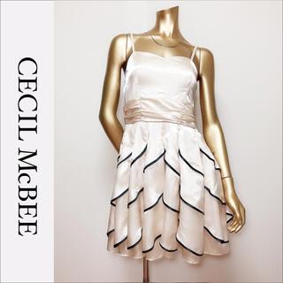 CECIL McBEE - CECIL McBEE ミニ ドレス ワンピース*アンクルージュ an