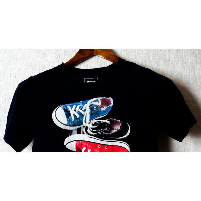 CONVERSE(コンバース)のCONVERSE  コンバース Tシャツ 紺色 レディースのトップス(Tシャツ(半袖/袖なし))の商品写真
