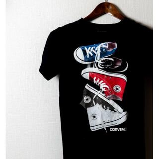 CONVERSE - CONVERSE  コンバース Tシャツ 紺色