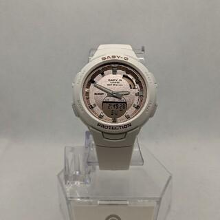 ベビージー(Baby-G)のbaby-G BSA-B100 ピンクゴールド Bluetooth対応(腕時計)