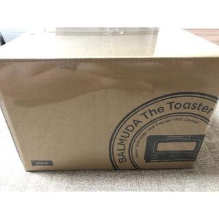 バルミューダ(BALMUDA)の新品未開封 バルミューダ BALMUDA The Toaster K05A-BK(調理機器)