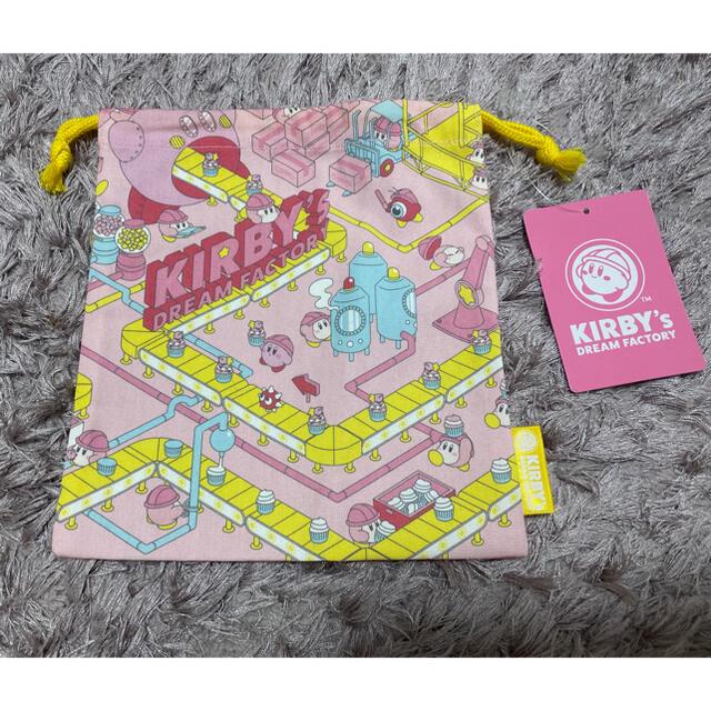 任天堂(ニンテンドウ)のカービィドリームファクトリー 巾着 エンタメ/ホビーのおもちゃ/ぬいぐるみ(キャラクターグッズ)の商品写真