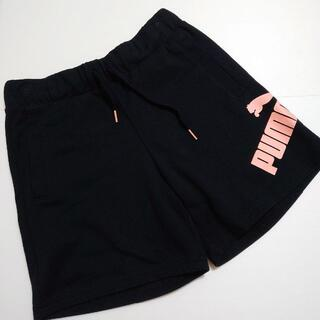 プーマ(PUMA)の美品 PUMA プーマ ロゴ スウェット ショートパンツ(ショートパンツ)