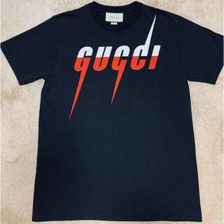 グッチ(Gucci)のグッチ ブレードロゴTシャツ(Tシャツ/カットソー(半袖/袖なし))