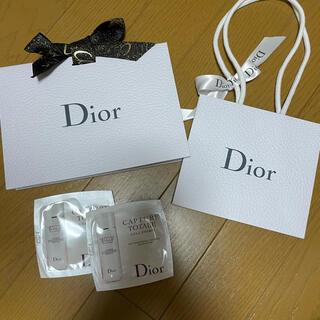 ディオール(Dior)のDior ディオール ショップ袋 試供品付き ギフトバッグ(ショップ袋)