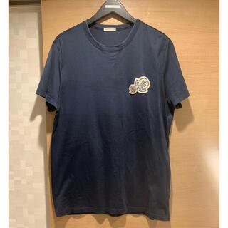 モンクレール(MONCLER)のMONCLER MAGLIA TSHIRTS モンクレール  ダブルワッペン(Tシャツ/カットソー(半袖/袖なし))