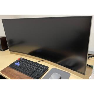 エルジーエレクトロニクス(LG Electronics)の【美品】LG 38WK95C-W 37.5インチ メーカー保証有り(PC周辺機器)
