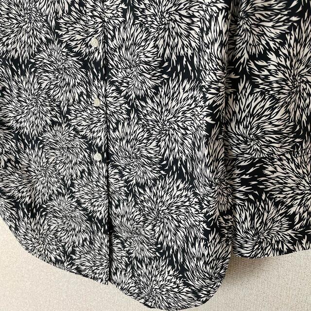 TOMORROWLAND(トゥモローランド)の新品 バイ マレーネ ビルガー フローラル コットン シャツ レディースのトップス(シャツ/ブラウス(長袖/七分))の商品写真