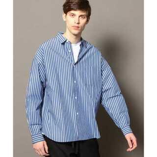 ビューティアンドユースユナイテッドアローズ(BEAUTY&YOUTH UNITED ARROWS)のBY ストライプ ビッグシャツ(シャツ)
