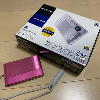 SONY - 【付属品すべてあり】SONY サイバーショット DSC-TX1 ピンク