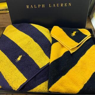 ラルフローレン(Ralph Lauren)のラルフローレン バスタオル フェイスタオルセット 新品(タオル/バス用品)