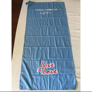ドルチェアンドガッバーナ(DOLCE&GABBANA)のDOLCE&GABBANA light blueのタオル(タオル/バス用品)