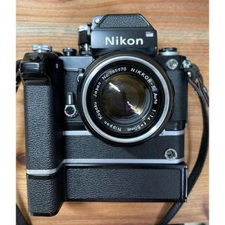 ニコン(Nikon)のNikon F2 MD-2  MB-1 レンズ2個のセット(フィルムカメラ)