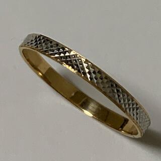 K18 pt850  リング コンビリング プラチナ ゴールド 指輪