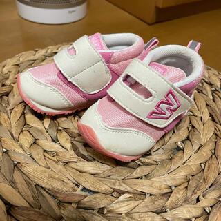 ニシマツヤ(西松屋)の新品未使用  西松屋 女の子 マジックテープ スニーカー 靴  サイズ12cm(スニーカー)