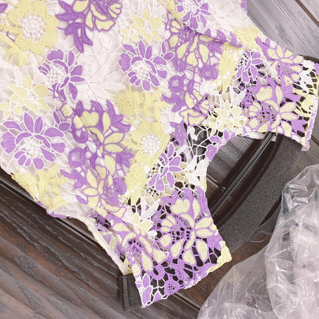 Lily Brown(リリーブラウン)のリリーブラウンワンピース レディースのフォーマル/ドレス(ミニドレス)の商品写真